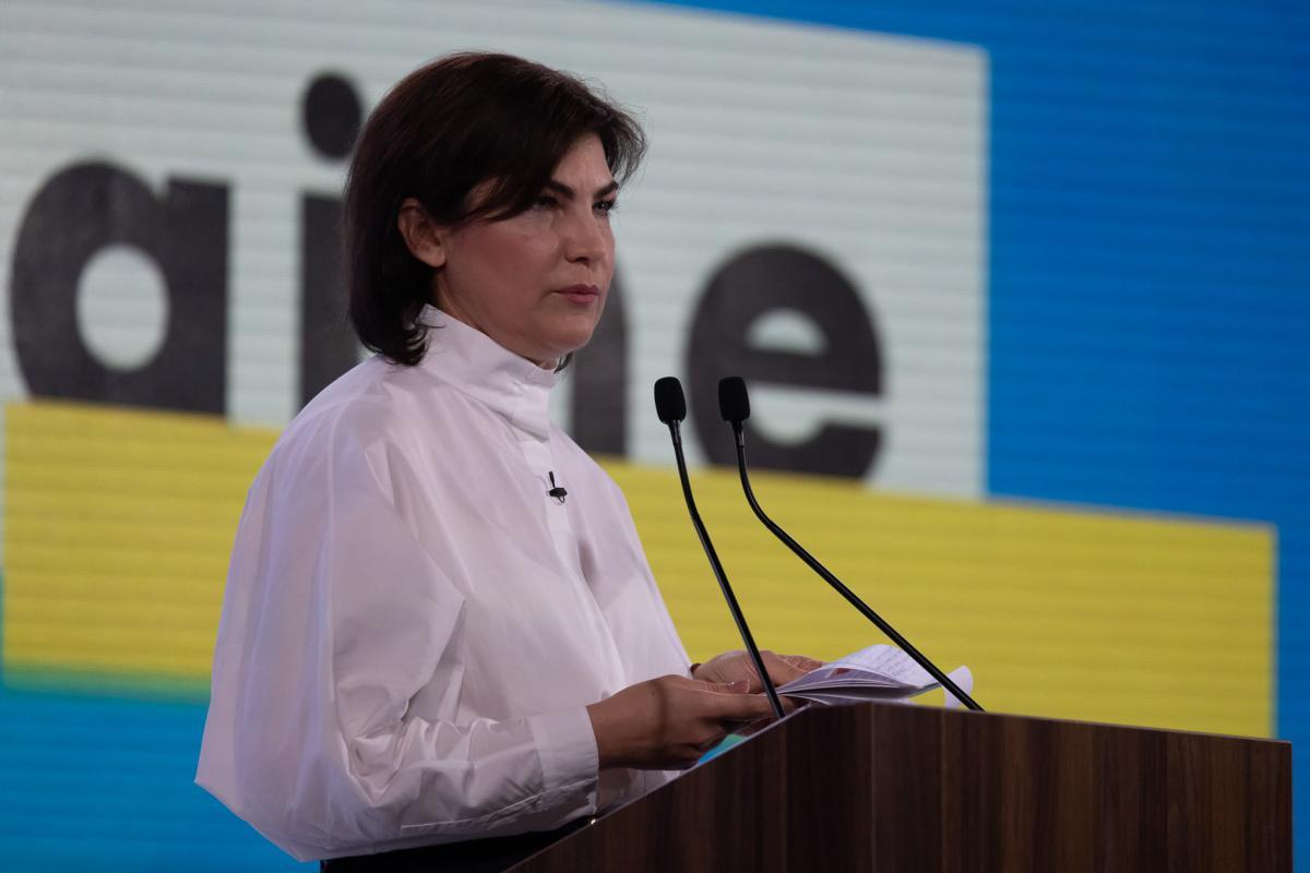 Венедиктова рассказала о борьбе с коррупцией / фото facebook.com/VenediktovaIryna