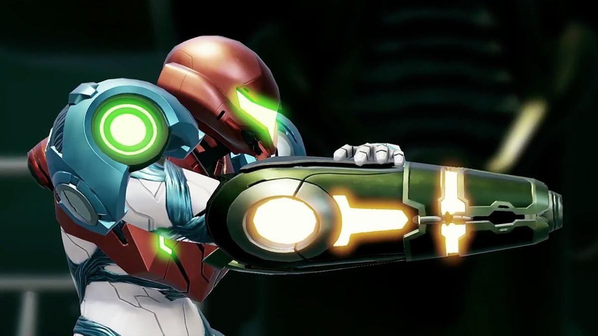 Героиня Metroid Dread /скриншот