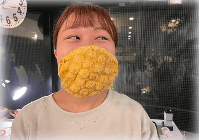 В основе экспериментальной маски – дынная булка / explica.co