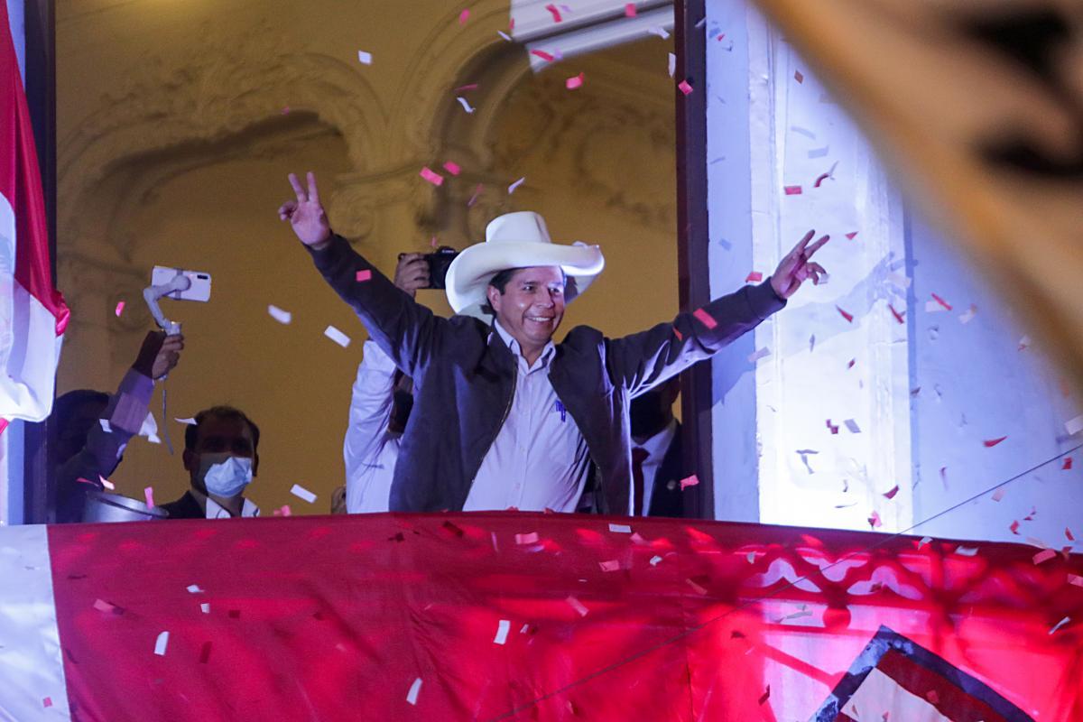 Педро Кастильо - учитель начальной школы, который не имеет опыта в политике / фото REUTERS