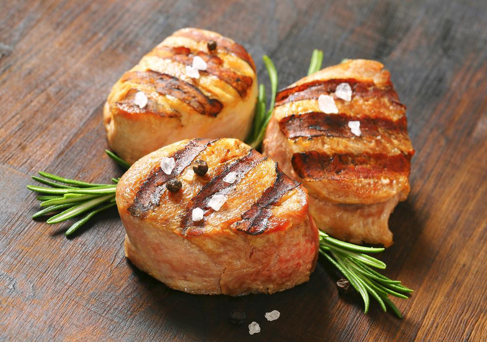 Блюда из свиной вырезки / фото ua.depositphotos.com
