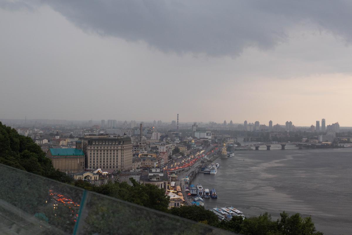 На Киев идет гроза / фото ua.depositphotos.com