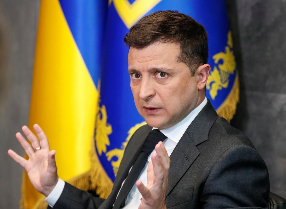 """Зеленський вважає, що питання про Путына-вбивцю """"дуже некоректне"""" / фото REUTERS"""