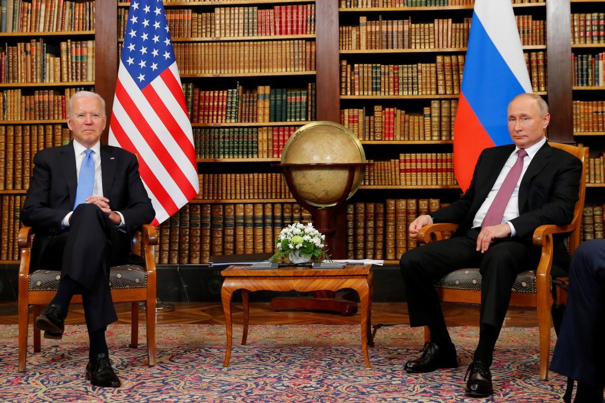 Встреча Джо Байдена и Владимира Путина в Женеве началась со скандала / Reuters