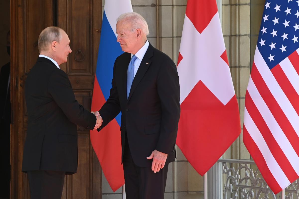 Путін та Байден зустрілися в Женеві / фото REUTERS