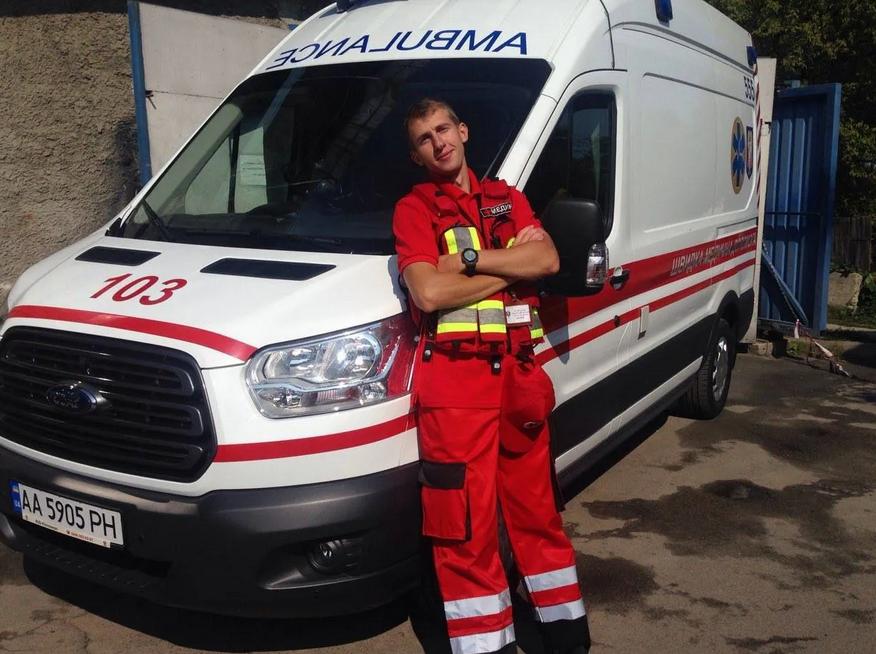 В Киеве погиб врач-велосипедист / Facebook Віктора Заболотного