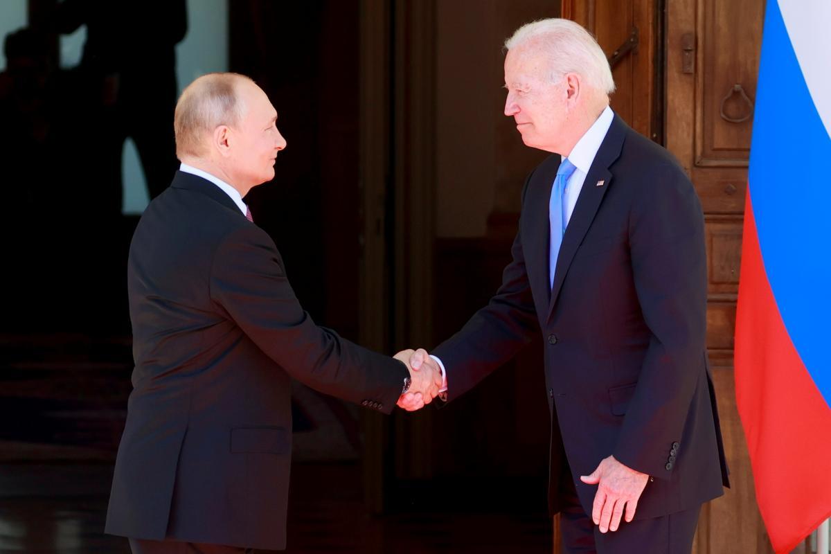 Joe Biden and Vladimir Putin held talks in Geneva / Reuters