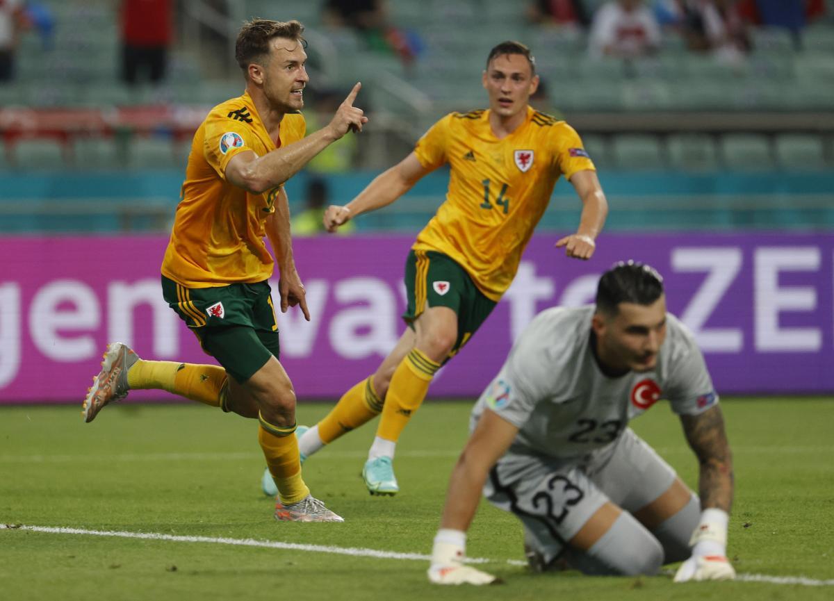 Аарон Рэмзи забил победный гол / фото REUTERS