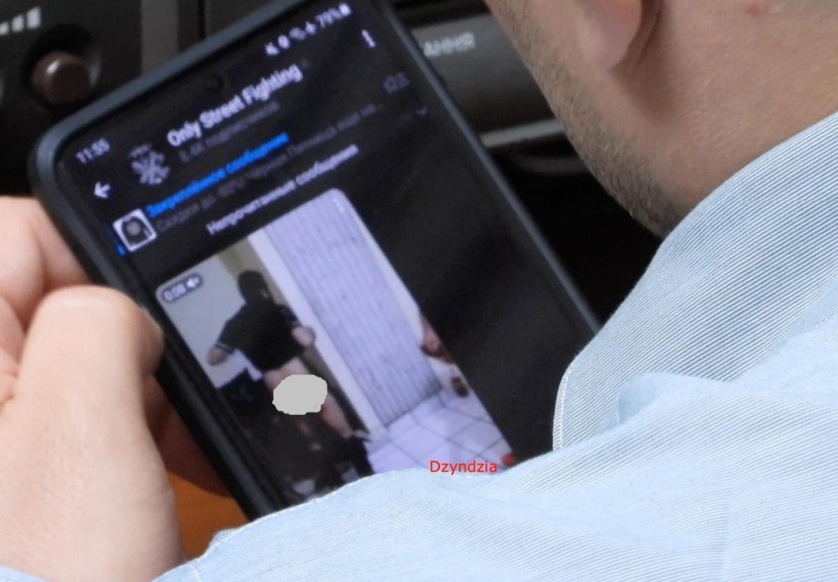 People's Deputy Kulchitsky watched a hard video in the Rada / photo facebook.com/dzindzia