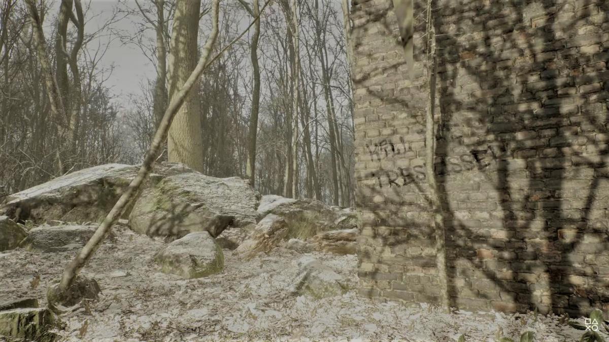 Кадр из тизера игры Abandoned /скриншот