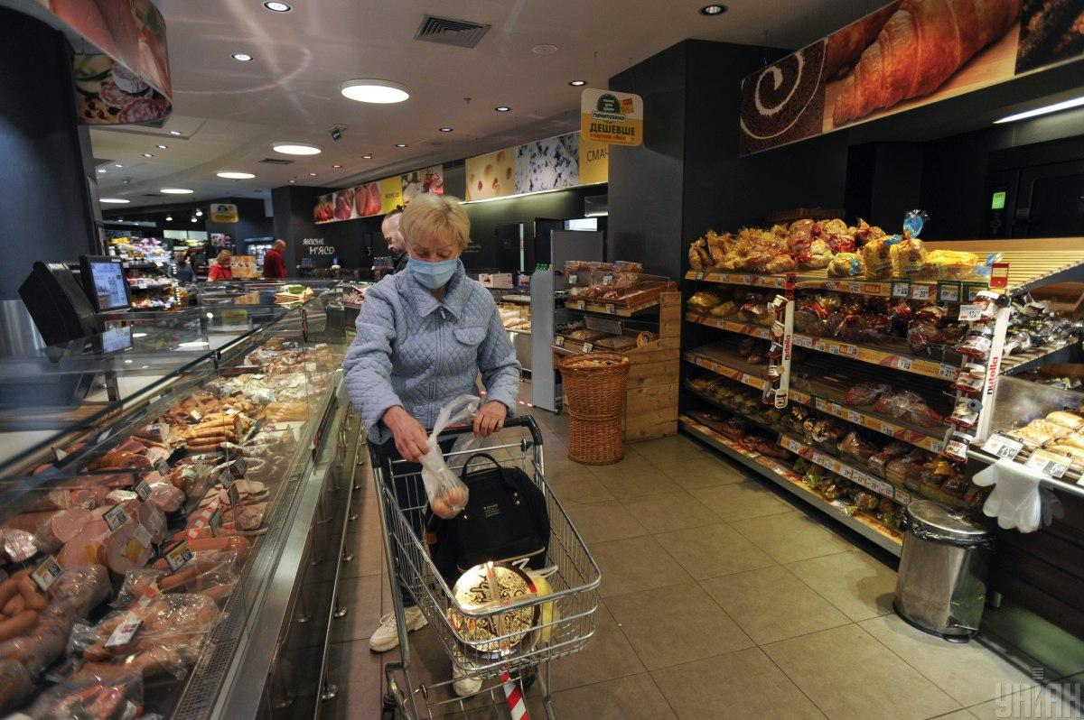 Ціни на продукти в Українізросли / фото УНІАН, Сергій Чузавков