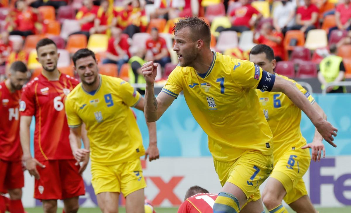 Андрей Ярмоленко открыл счет в матче / фото REUTERS
