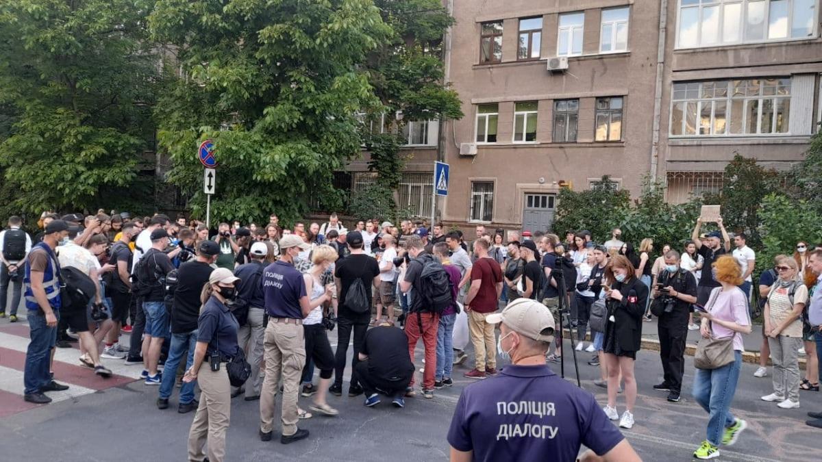 У Києві пройшла акція до дня народження Катерини Гандзюк / фото УНІАН, Дмитро Хилюк