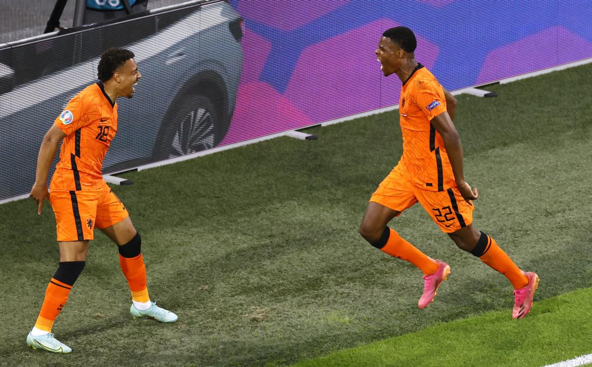 Дензел Дюмфрис забил второй мяч на турнире / фото REUTERS