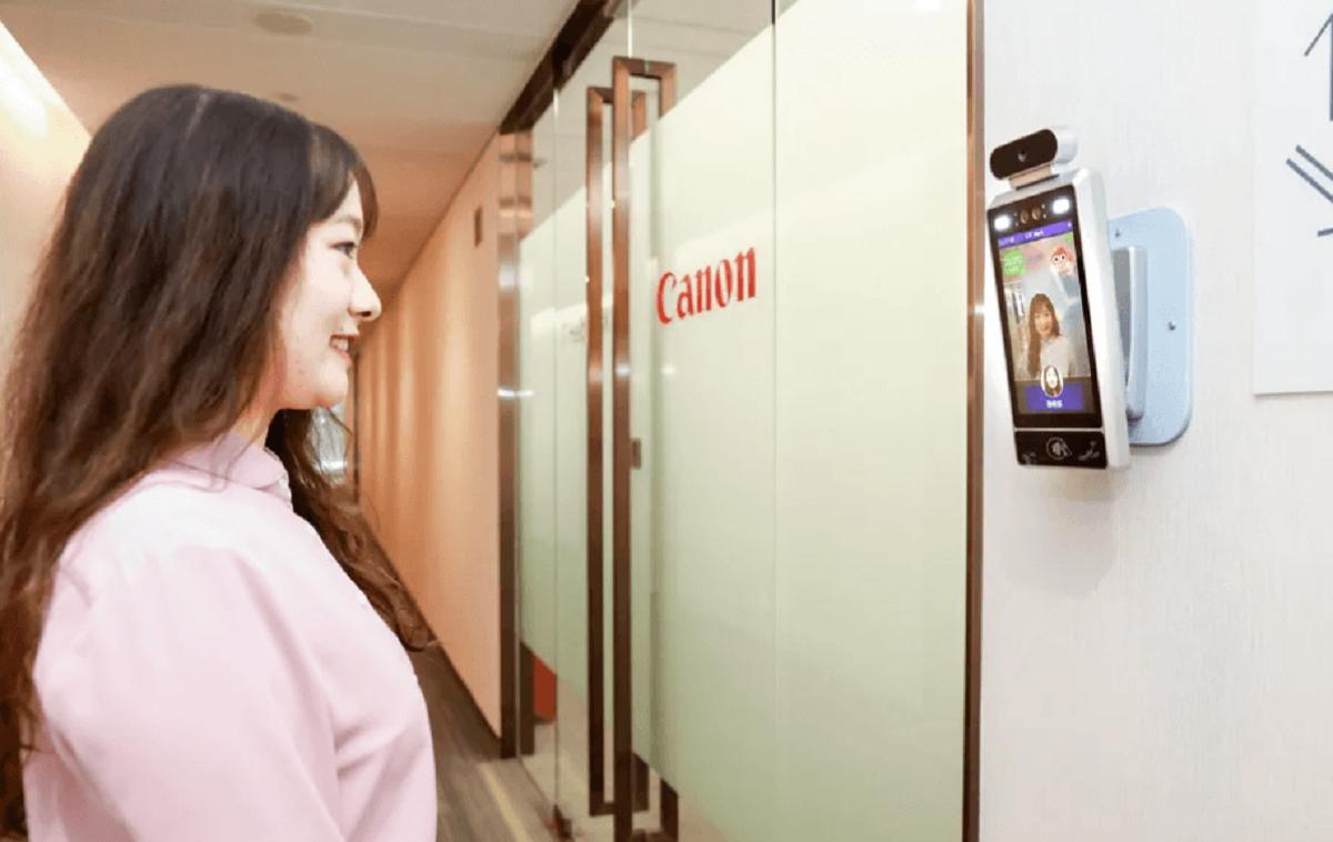 У Китаї в офісі Canon з'явилися камери з функцією розпізнавання посмішки / фото Canon Information Technologies