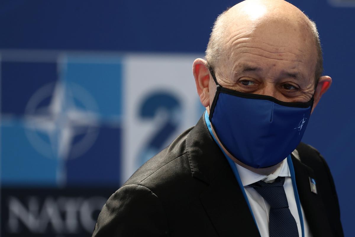 Жан-Ив Ле Дриан считает, что условия для вступления Украины в НАТО пока не сложились / фото REUTERS