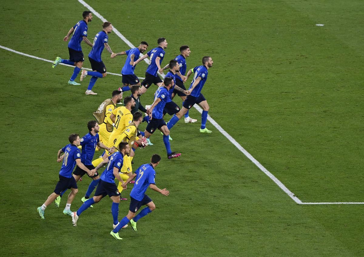 Италия на этом турнире шикарно играет / фото REUTERS