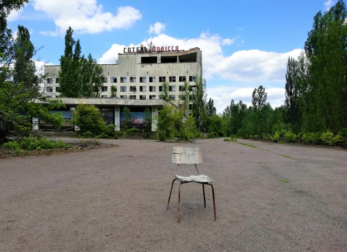 Місто-привид Прип'ять / фото Марина Григоренко
