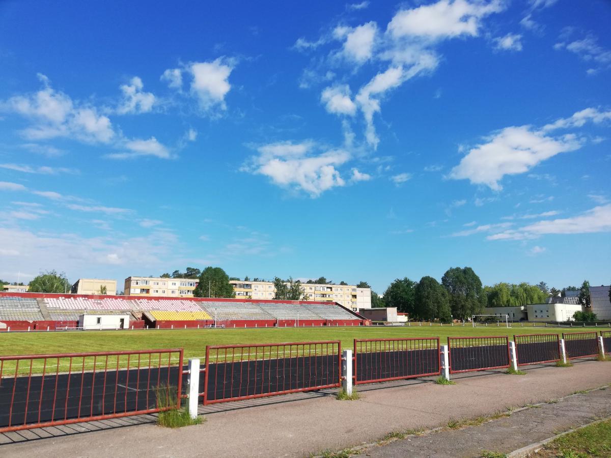 Стадіон у Славутичі / фото Марина Григоренко