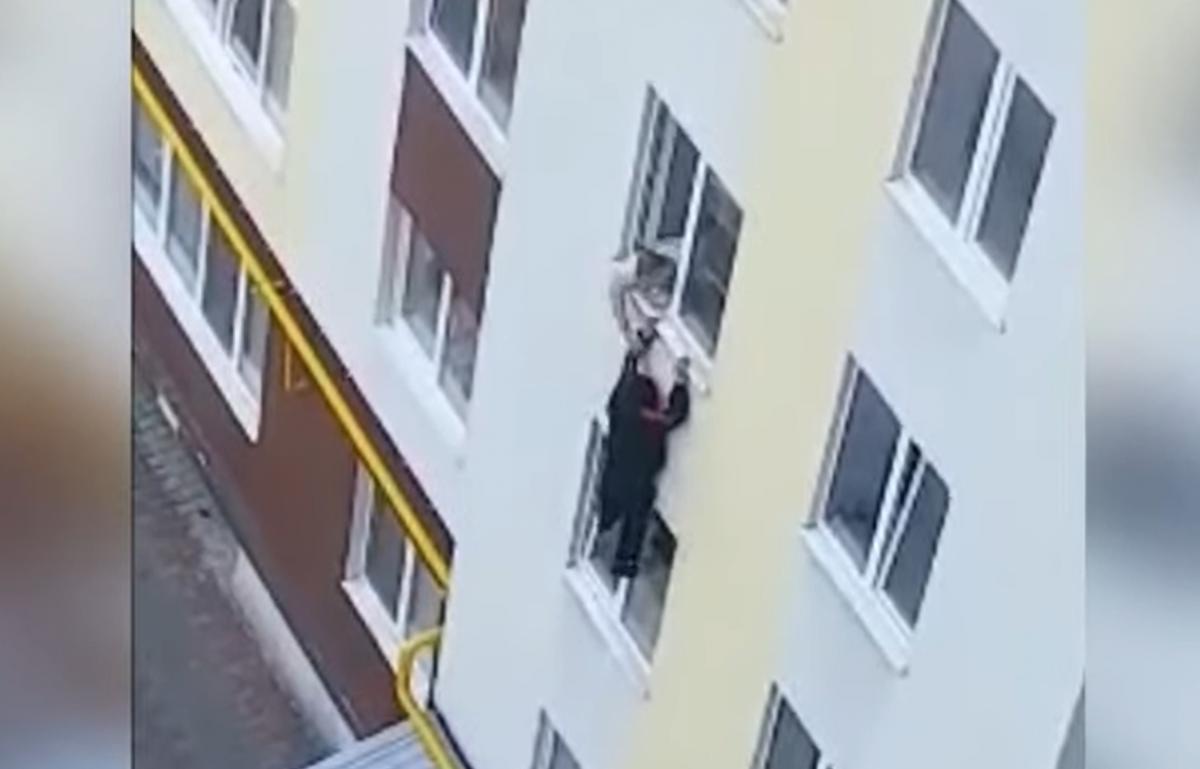 Происшествие сняли на видео / Скриншот