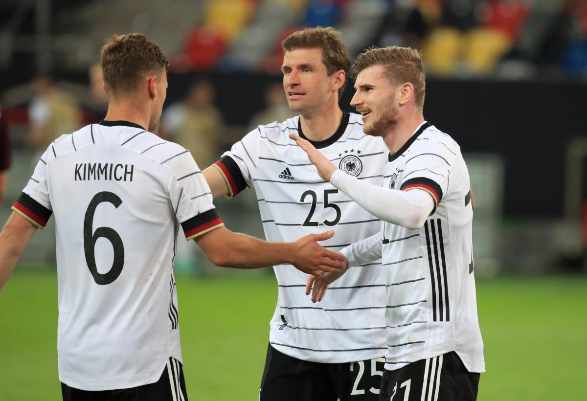 Немцы к матчу с Португалией подходят в статусе фаворита / фото REUTERS