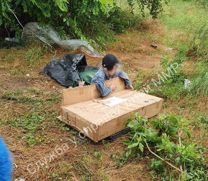 В Мелитополе ребенок жил под открытым небом / фото Facebook/Служба по делам детей в Мелитополе