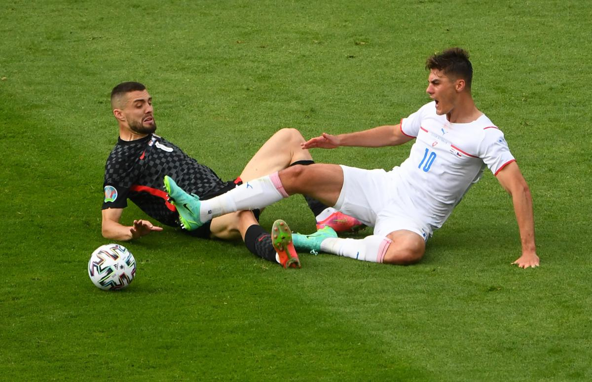 Хорватия - Чехия / фото REUTERS