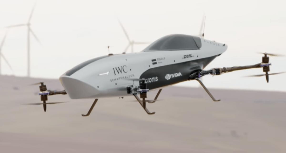 Alauda Airspeeder Mk3 / скріншот