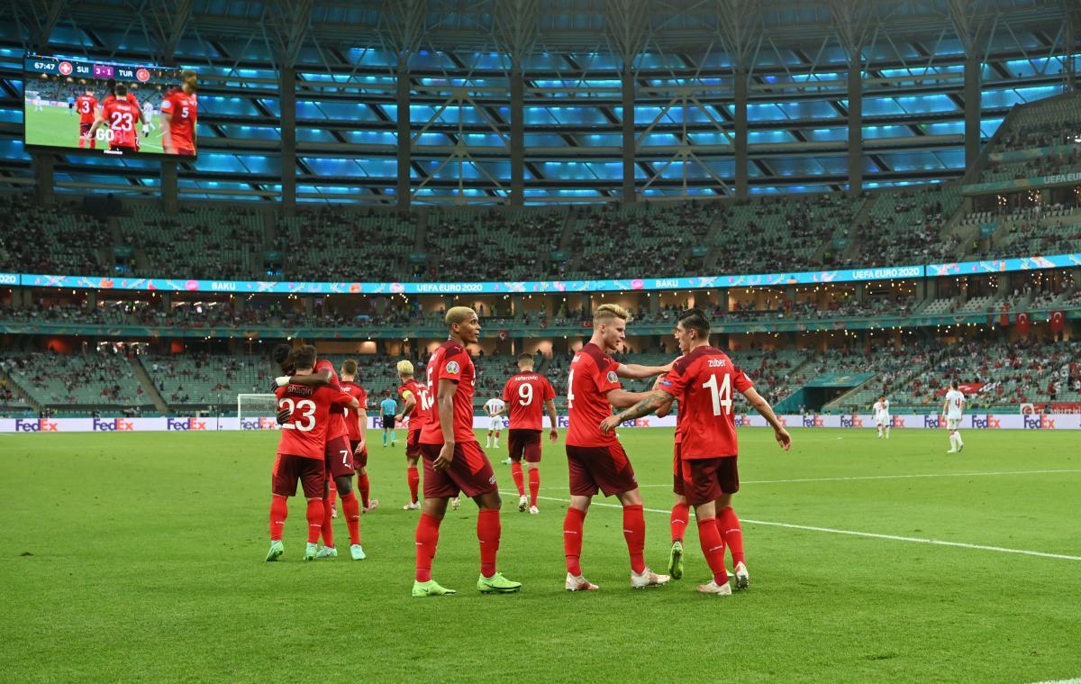 Швейцария сохранила шансы на плей-офф / фото REUTERS
