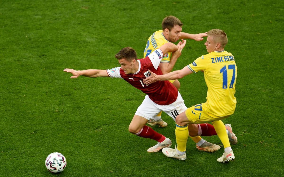 Украина - Австрия / фото REUTERS