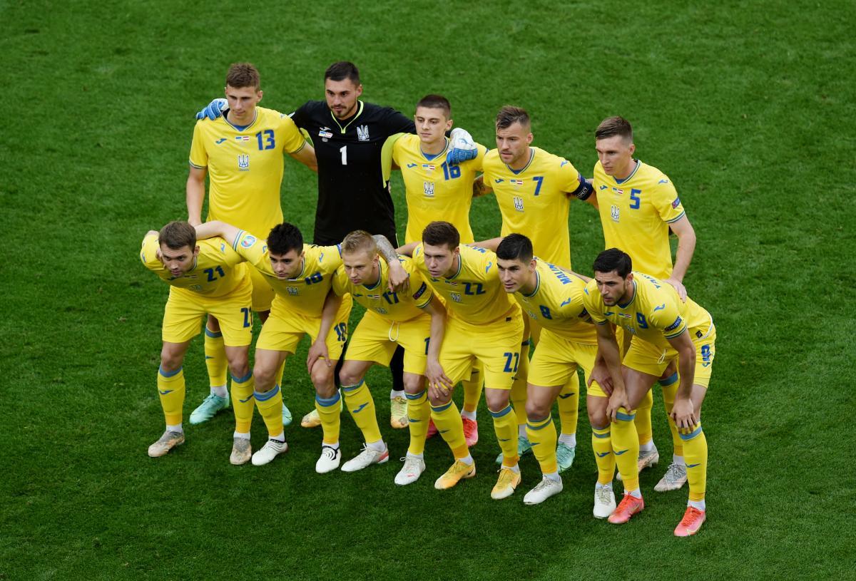 Збірна України на Євро-2020 / фото REUTERS