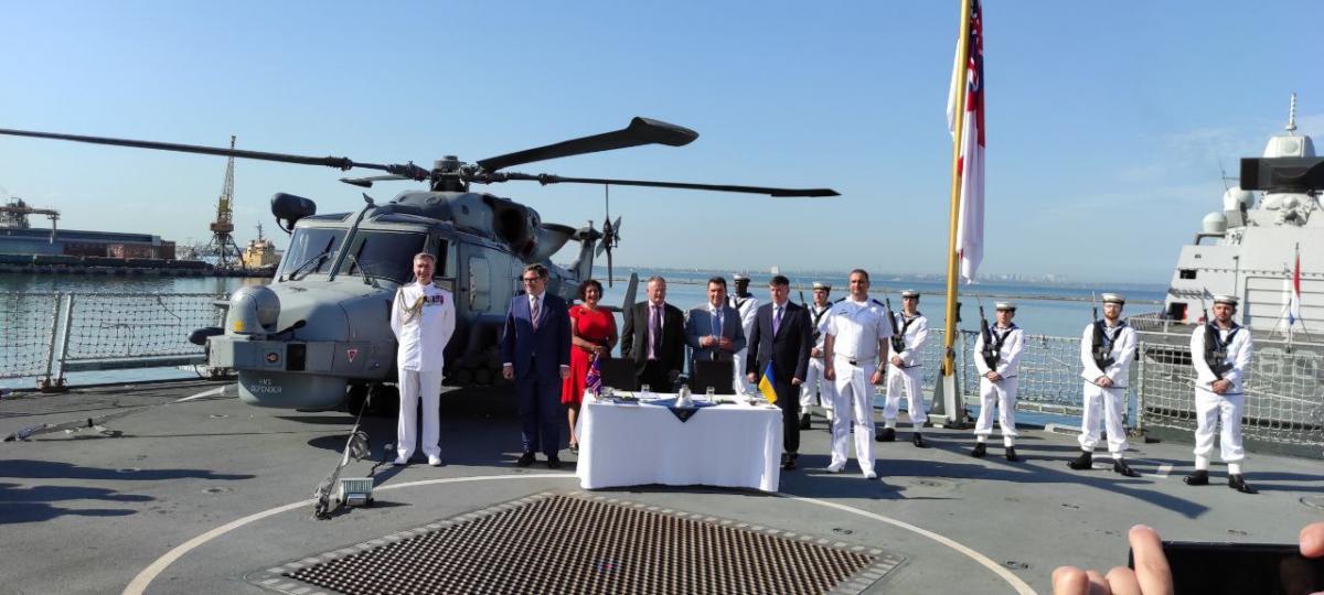 Україна і Великобританія підписали меморандум \ armyinform.com.ua