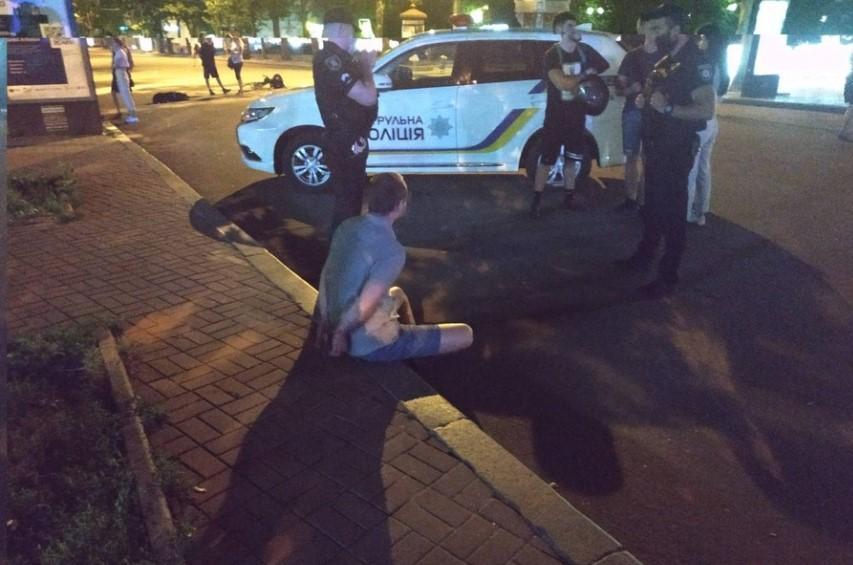 В центре Николаева произошла драка со стрельбой / фото novosti-n