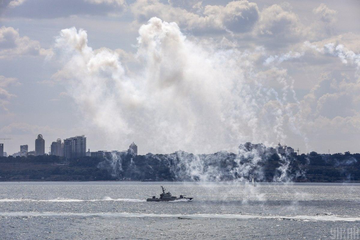 Учения начались в Черном море 18 июня \ фото УНИАН
