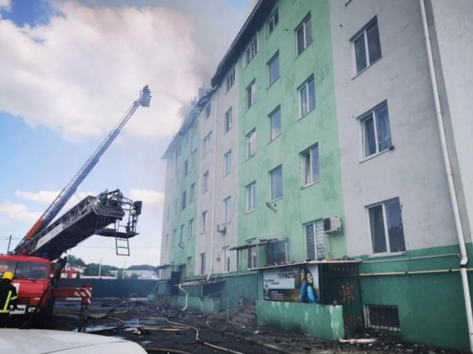 Потужний вибух стався вчора вдень / фото kv.dsns.gov.ua
