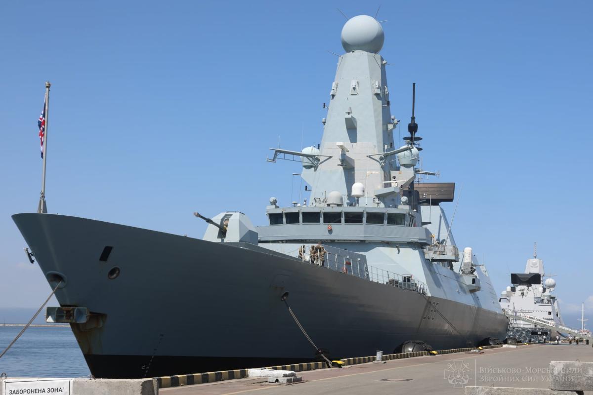 Ukraine and Great Britain sign memorandum on maritime partnership / photo facebook.com/navy.mil.gov.ua