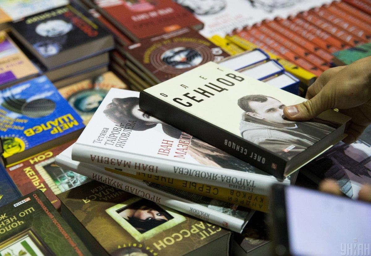 На ярмарку проходятьпереговори про продаж прав і переклад українських книжок закордоном/ фото Михайло Марків,УНІАН