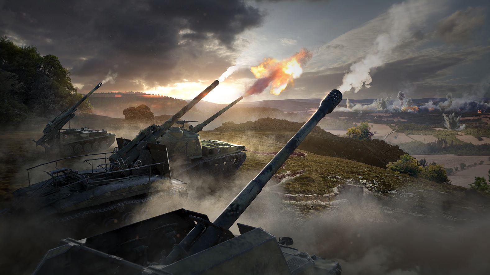 В патче 1.13 разработчики переработали геймплей артиллерии /фото wargaming.net