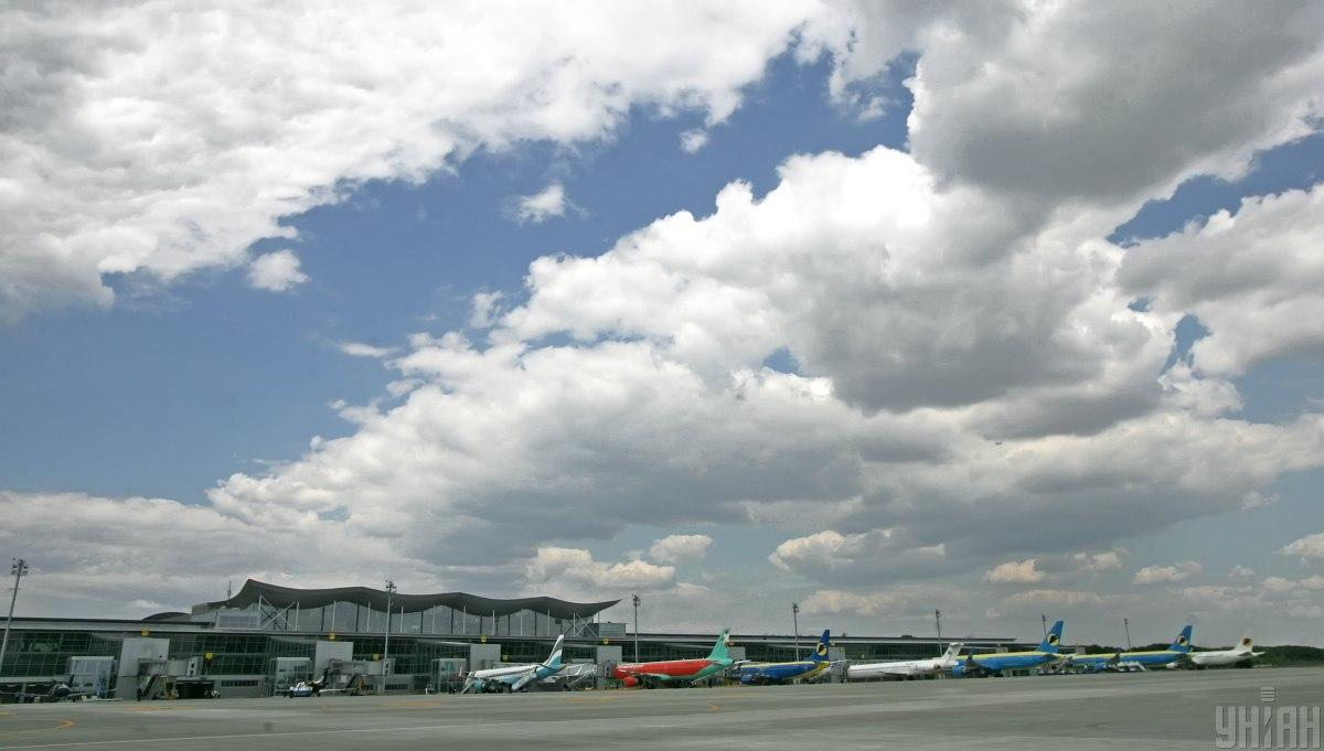 """Аеропорт """"Бориспіль"""" відкрив всі входи/виходи до терміналу D / фото УНІАН, Олександр Синиця"""