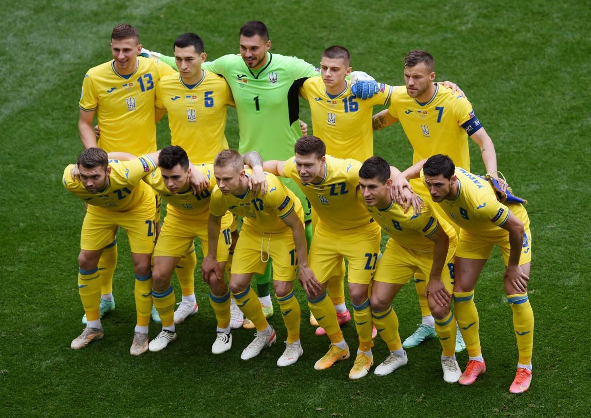Збірна України перед матчем з Північною Македонією на Євро-2020 / фото REUTERS