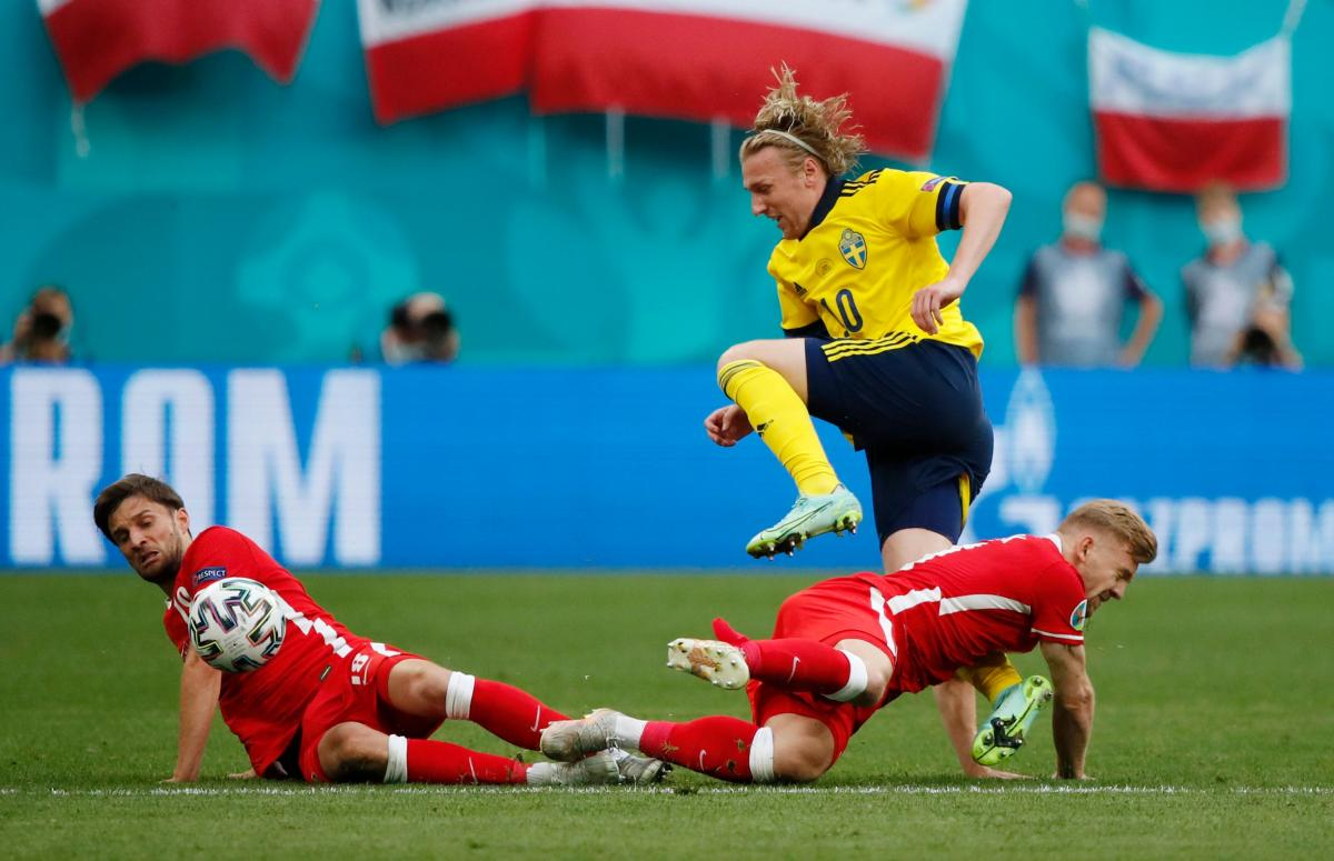Швеция - Польша / фото REUTERS