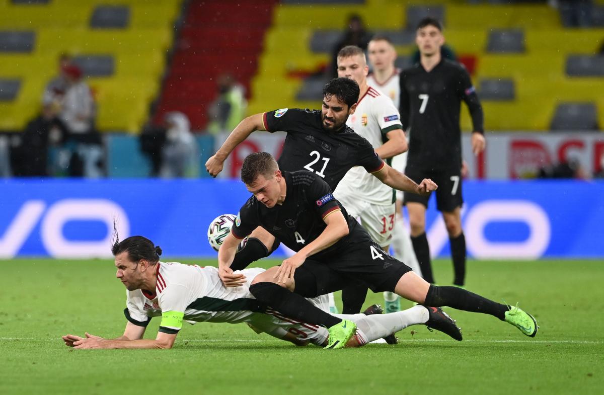 Германия - Венгрия / фото REUTERS