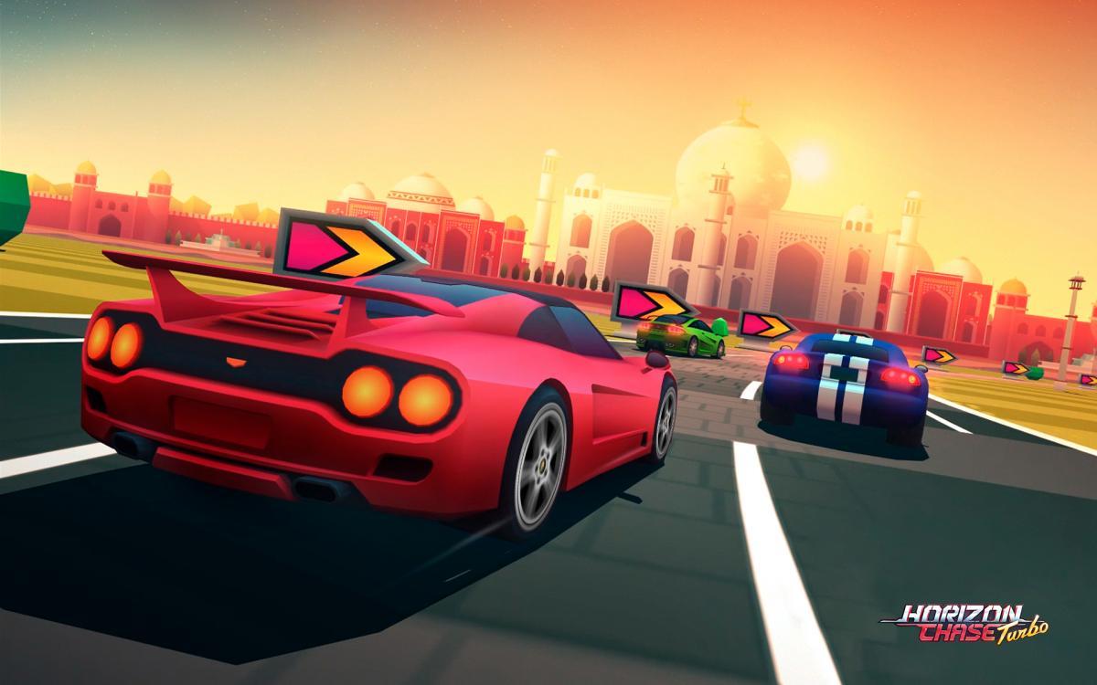 Horizon Chase Turbo /фото Aquiris Game Studio
