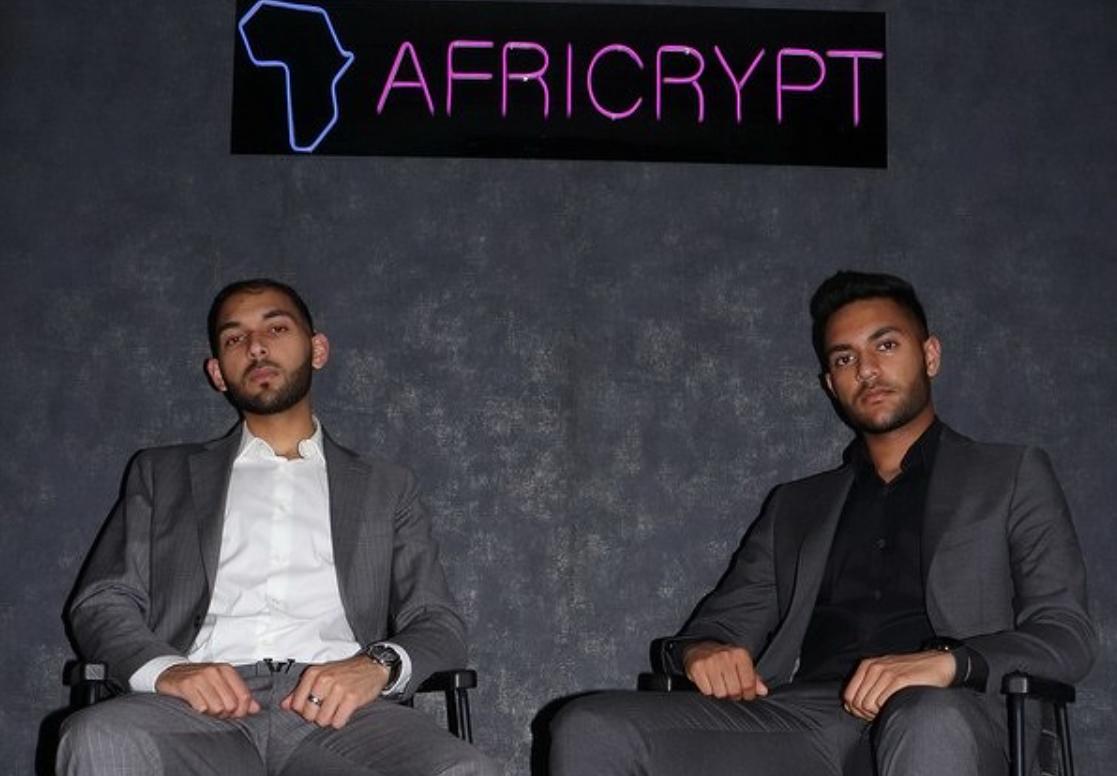 Основатели платформыAfricrypt - Амир и Раис Каджи/ cnews.ru