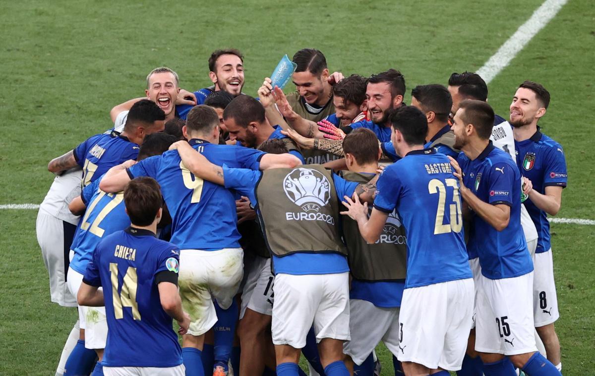 Сборная Италии вошла в число главных фаворитов турнира / фото REUTERS