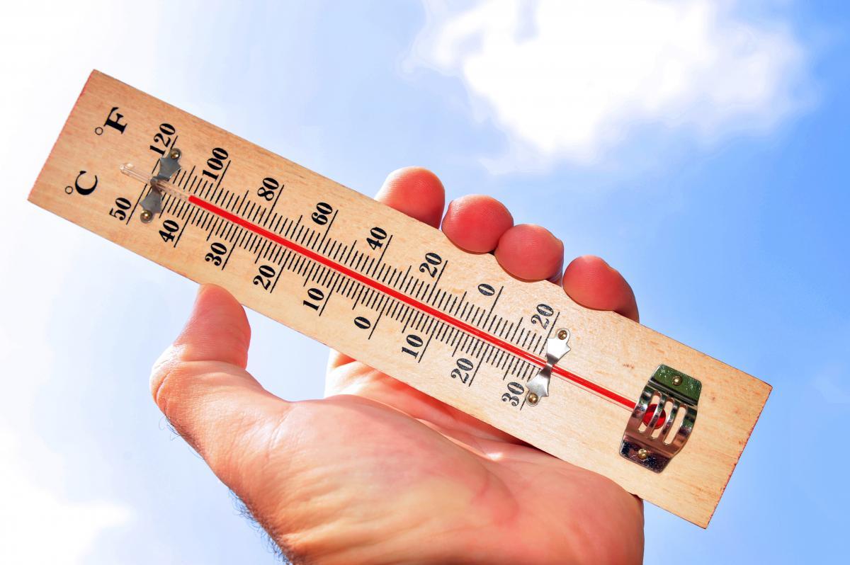 В Ривненской области установлен температурный максимум / фото ua.depositphotos.com