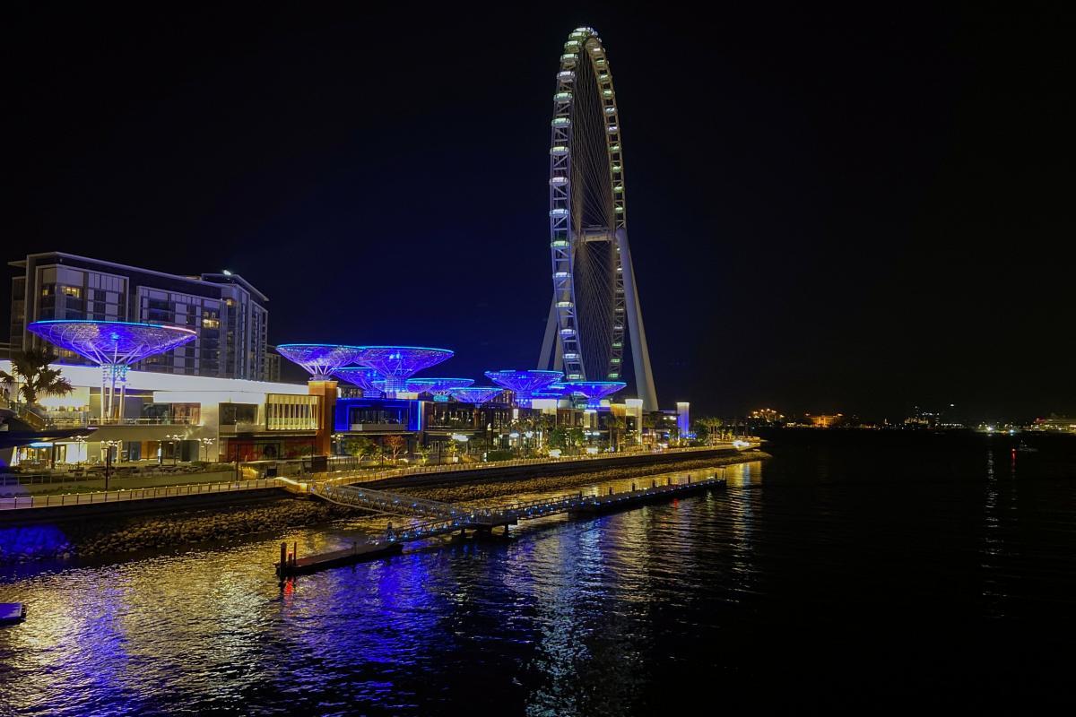 Музей разместится на двух этажах и будет соседствовать с колесом обозрения Ain Dubai \ фото REUTERS