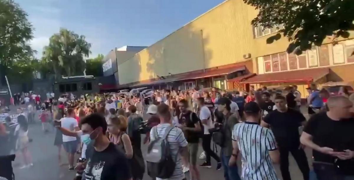 Баста выступает в Киеве, хотя неоднократно гастролировал в Крыму / Скриншот