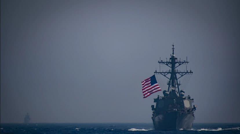 В Черное море зашел ракетный эсминец США / фото U.S. Naval Forces Europe-Africa / U.S. 6th Fleet