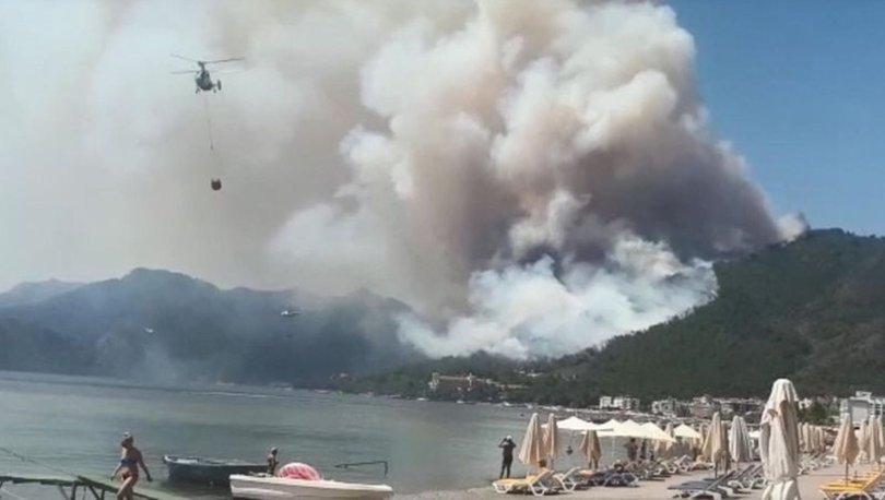 В Турции погиб пожарный во время борьбы с огнем / фото Haberturk